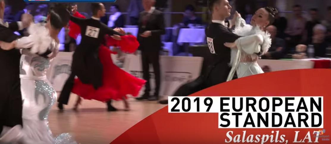 Vedran Sraga & Paula Hude, Europsko prvenstvo Odrasli Standard , Tango
