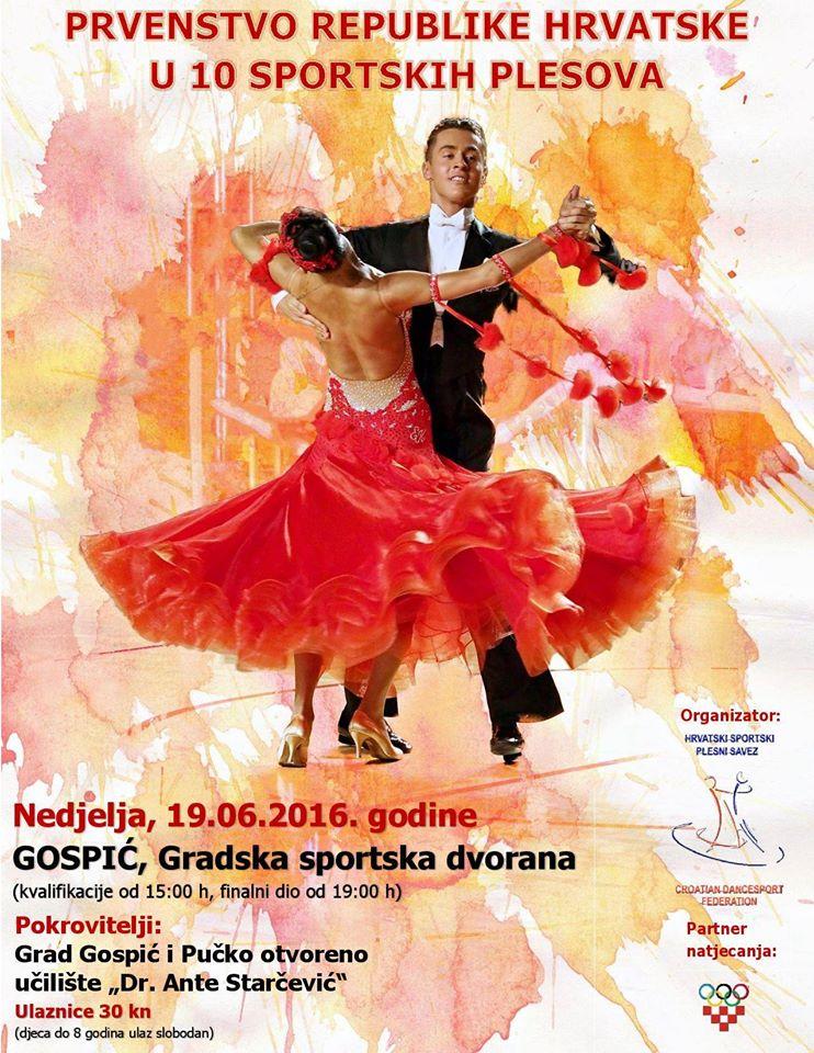 Objava plakata za PRH u kombinaciji 10 plesova