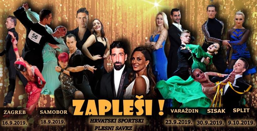 """Hrvatski sportski plesni savez s ponosom predstavlja projekt """"ZAPLEŠI""""!!!"""